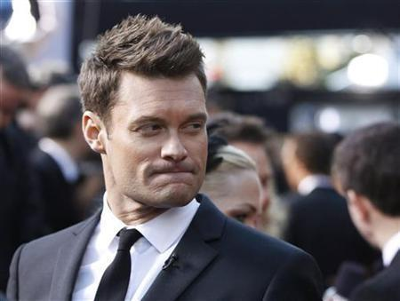 Radio and television personality Ryan Seacrest