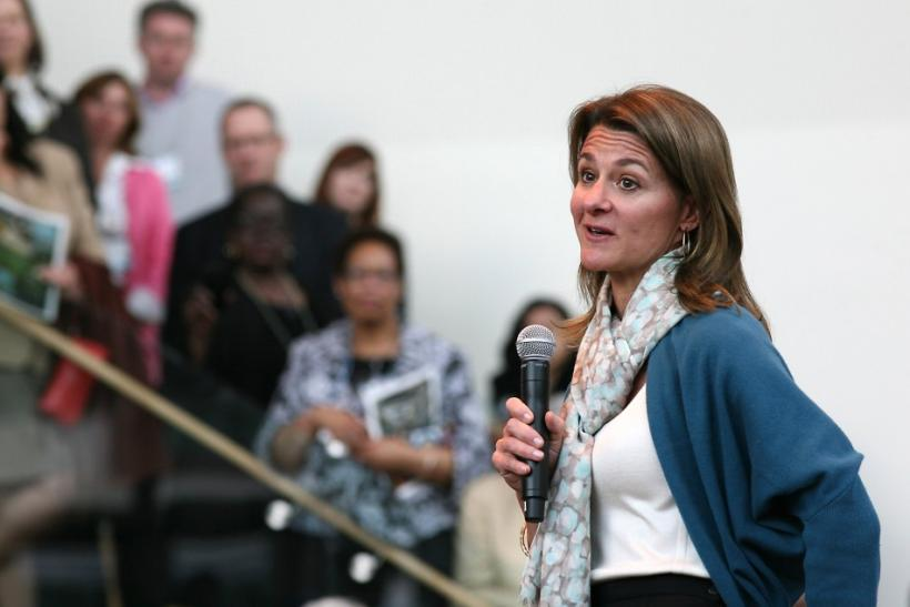6.Melinda Gates: Co-Founder and Co-Chairman, Bill and Melinda Gates Foundation