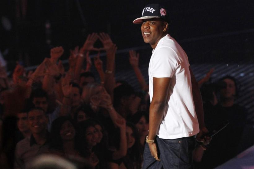 Rapper Jay-Z performs at the 2011 MTV Video Music Awards in Los Angeles
