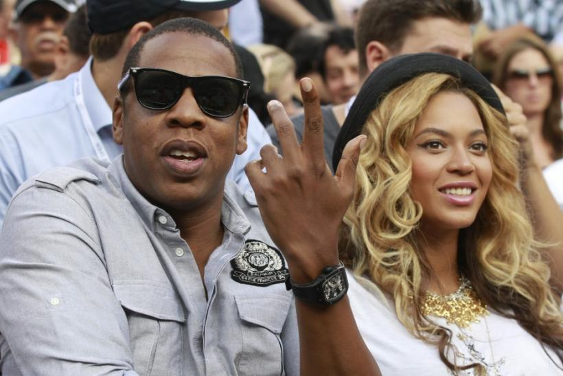 6. Jay-Z and Beyonce