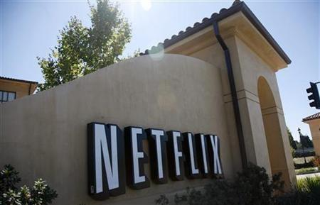 The headquarters of Netflix is shown in Los Gatos, California