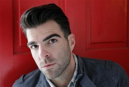 Producer and actor Zachary Quinto poses for a portrait while promoting the film ''Margin Call'' in Los Angeles