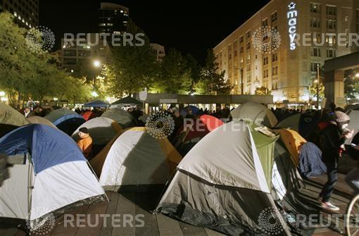 Occupy Seattle Protest