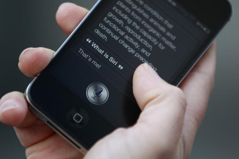 Siri Voice Recognition