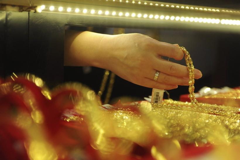 Gold jewelry in Hefei, Anhui Province, China