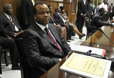 "Swaziland""s King Mswati III attends the Southern African Development Community"