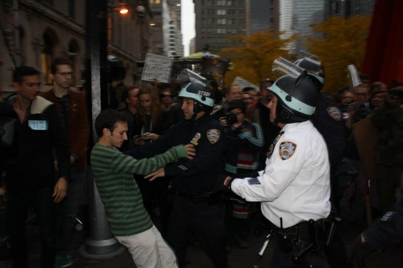Man pushed by NYPD