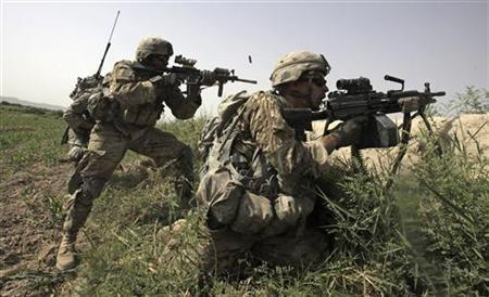 U.S. Army Soldiers In Kandahar, Afghanistan