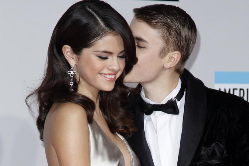 Justin Bieber and girlfriend, Selena Gomez