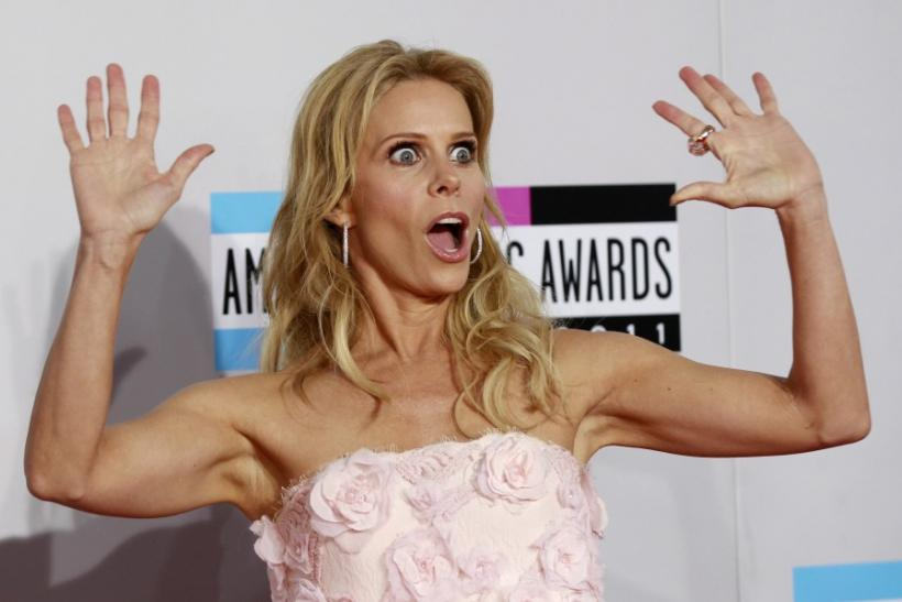 Actress Cheryl Hines arrives at the 2011 American Music Awards in Los Angeles