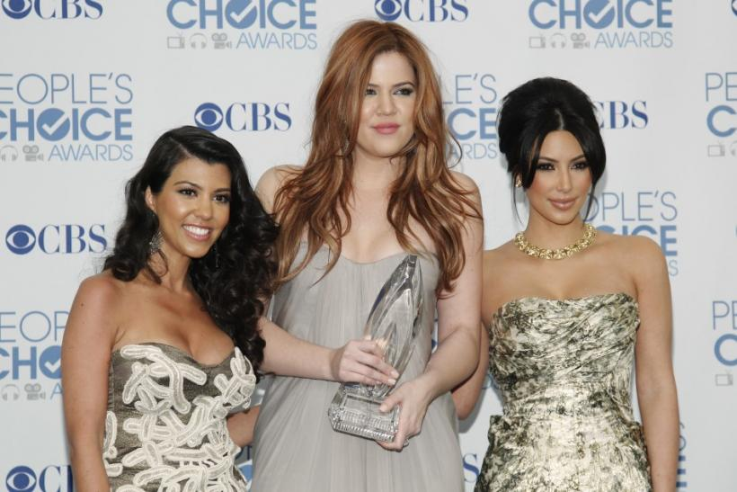 Kourtney, Khloe and Kim Kardashian