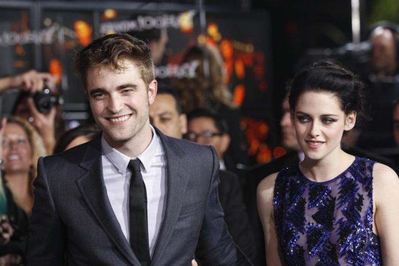 "Pattinson and Stewart attend the premiere of ""The Twilight Saga: Breaking Dawn - Part 1"" in Los Angeles"