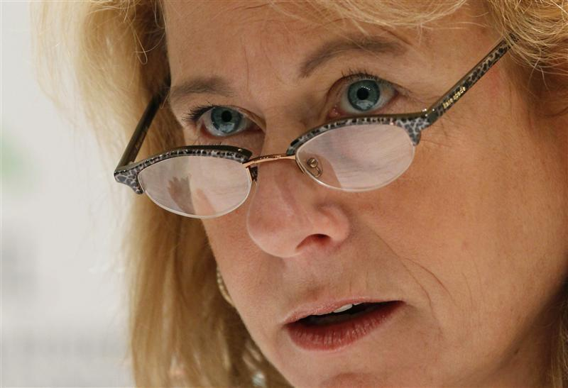 Chief Executive Officer of Anglo American Cynthia Carroll attends the G20 CEO Summit in Seoul