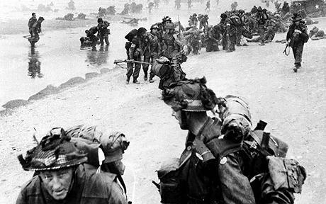 Rare Photo from D-Day Invasion