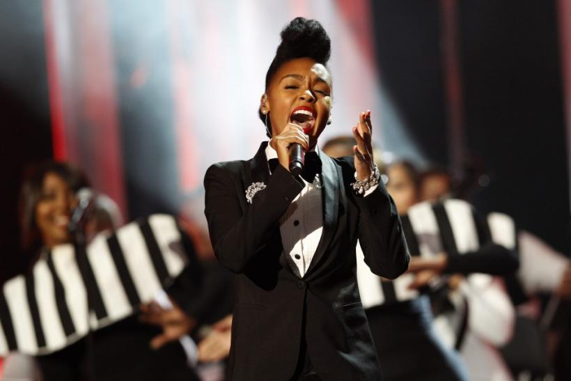 Janelle Monae performs during the annual Nobel Peace Prize Concert in Oslo