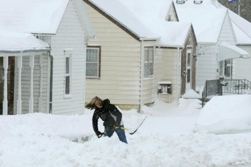 Blizzard Digging Out