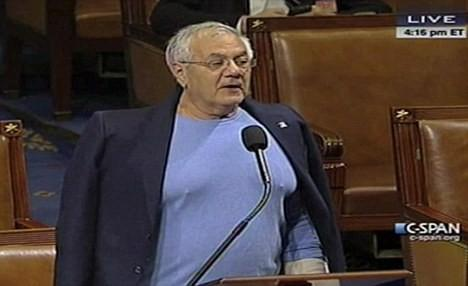 ... Frank Scandal: The Story Behind the Nipple-Revealing Shirt [VIDEO