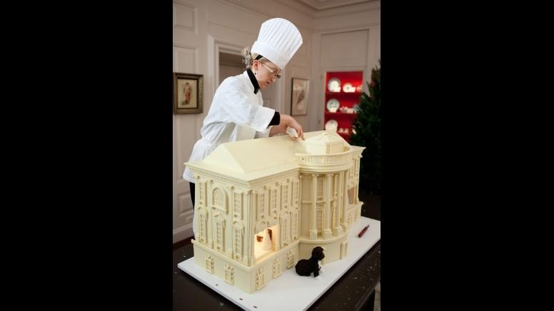 The Gingerbread White House