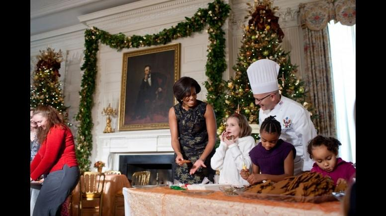 Christmas 2011 In The Obama White House Slideshow