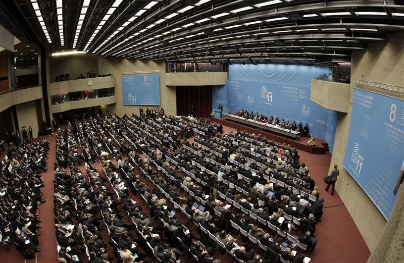 General view of the 8th World Trade Organization Ministerial Conference in Geneva