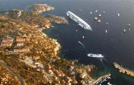 Three die amid panic as cruise ship wrecked in Italy