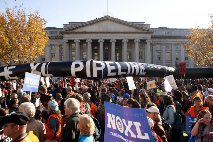 Obama rejects Keystone project, firm could reapply