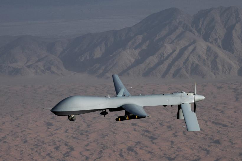 Undated handout image courtesy of the U.S. Air Force shows a MQ-1 Predator unmanned aircraft.