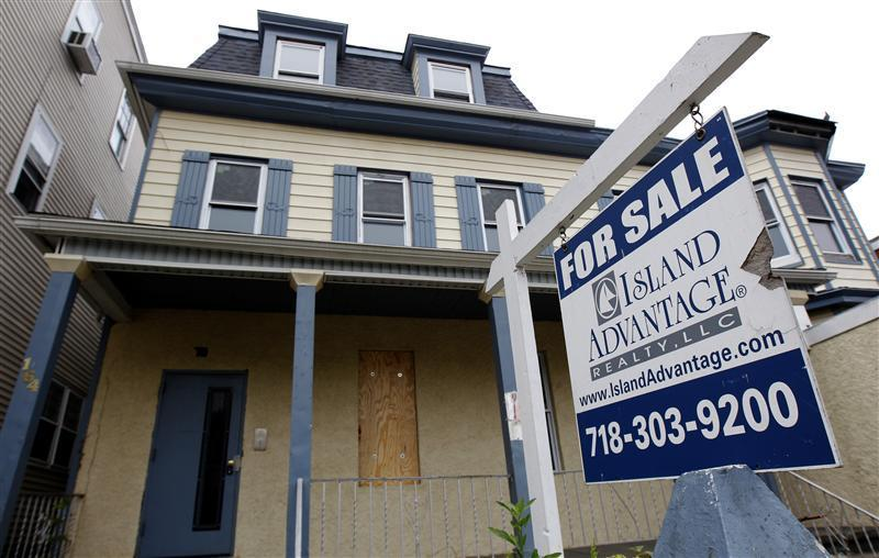 A vacant home for sale is pictured in Yonkers