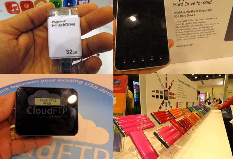 iFlashDrive, HyperDrive, HyperJuice and CloudFTP