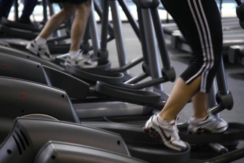 Women Orgasms at the Gym