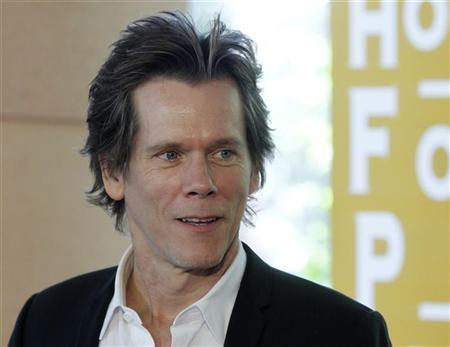 Actor Kevin Bacon arrives for the Hollywood Foreign Press Association Annual Installation Luncheon in Beverly Hills, California