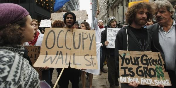 Occupy Wall Street Greed