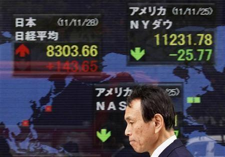 Nikkei falls from 3-month high but still above 9,000