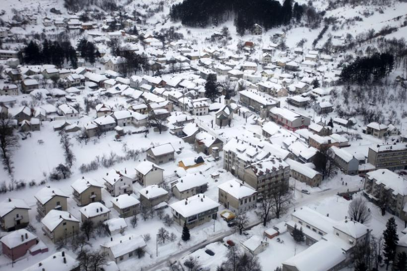 Europe Cold Weather: Latest Aerial Views of Country Side Blanketed With Snow