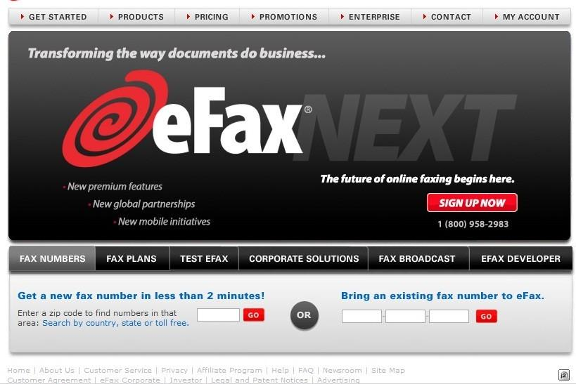 Top Online Faxing Services 2012