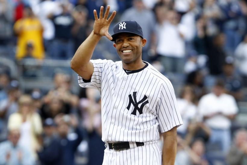 Mariano Rivera was second in the American League with 44 saves in 2011.