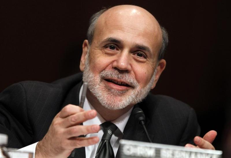 U.S. Federal Reserve Chairman Ben Bernanke testifies before a Senate Budget Committee hearing on the outlook for the U.S. Monetary and Fiscal Policy on Capitol Hill in Washington, in this February 7, 2012 file photograph.