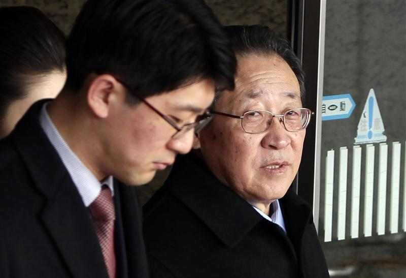 North Korea's First Vice Foreign Minister and envoy to the six-party talks Kim Kye-gwan arrives at Beijing airport