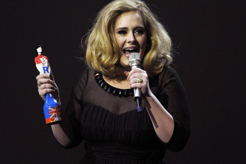 Adele, who looks set to feature in the London 2012 Olympics closing ceremony.
