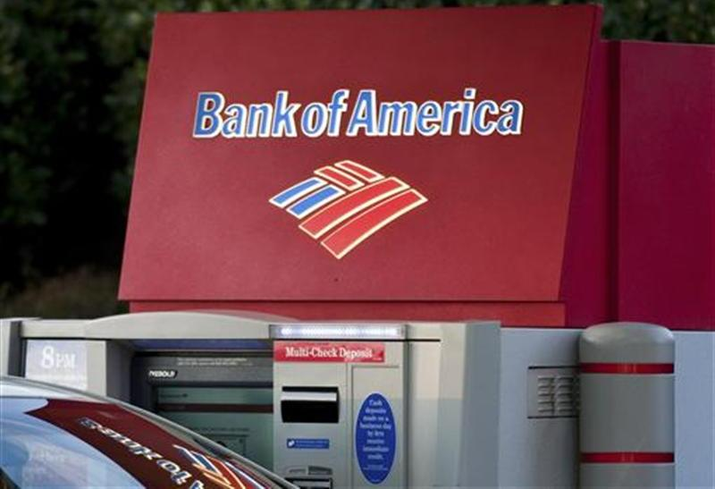 Bank of America reported better earnings on lower credit losses and strong trading performance