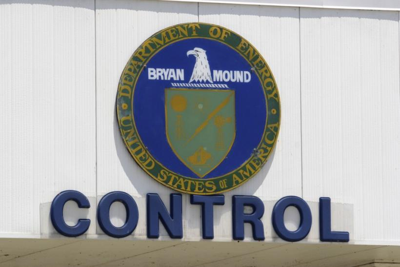 The sign of the main control building is displayed at the U.S. Department of Energy's Stategic Petroleum Reserve in Bryan Mound, Texas May 20, 2008.