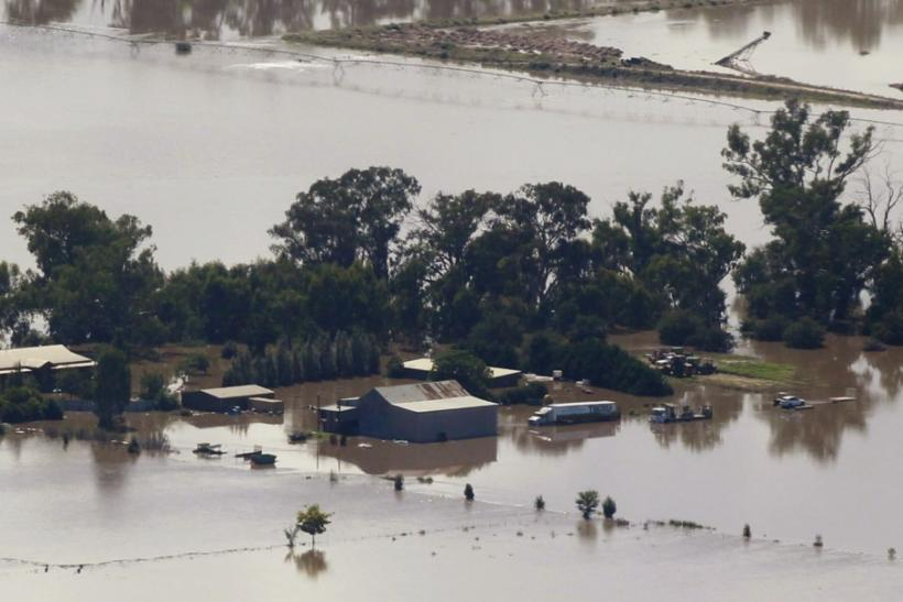Aerial Views of Flooding in Australia