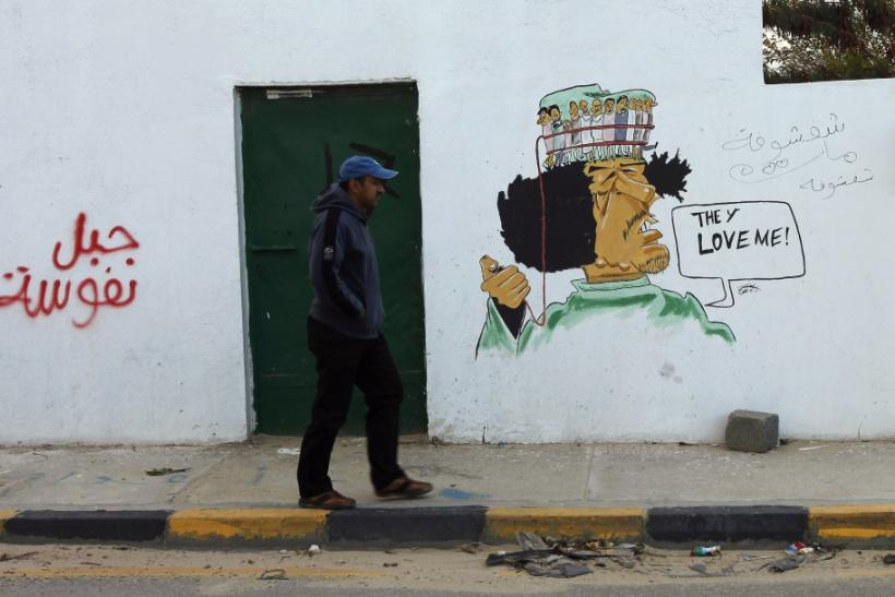 Political Graffiti in Libya