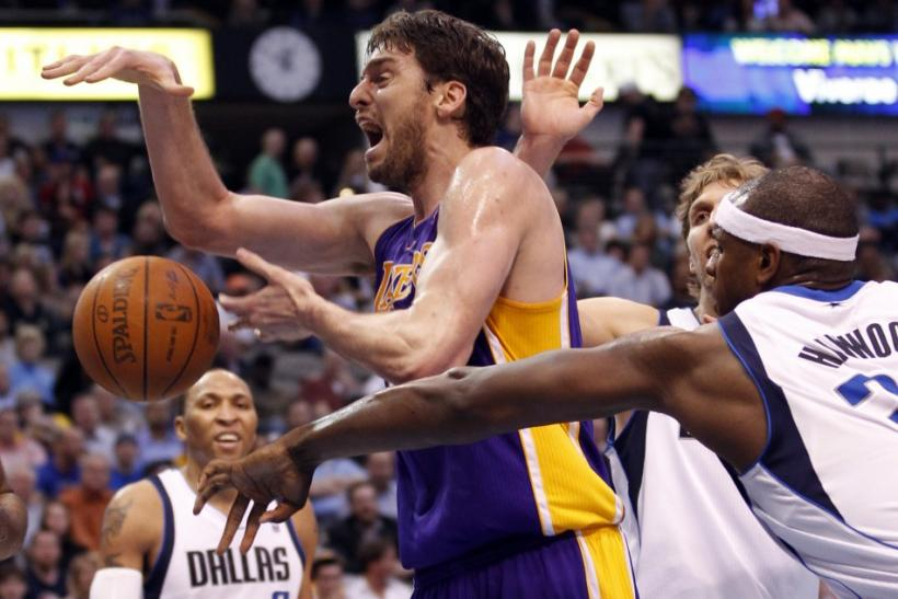 Paul Gasol is averaging a career low 16.6 points per game this season.