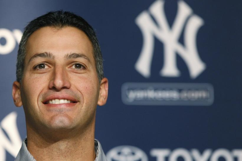 New York Yankees pitcher Andy Pettitte announced his retirement last year at the Yankee Stadium in New York.