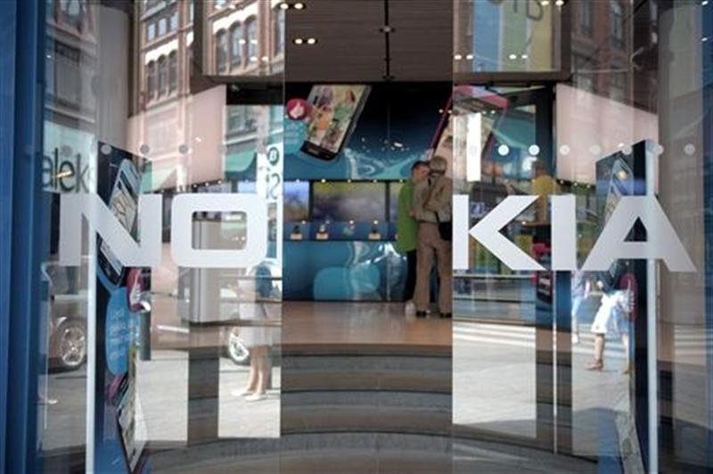 General view of the Nokia flagship store in Helsinki July 18, 2011.