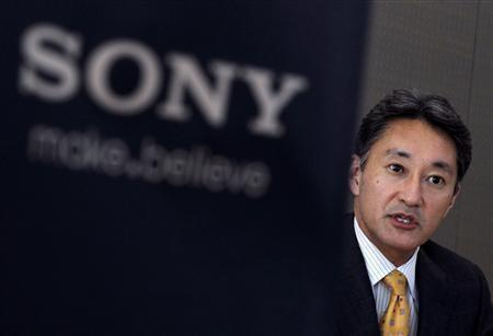 Sony Corp's incoming CEO Kazuo Hirai speaks during a roundtable discussion with journalists at the company's headquarters in Tokyo in this February 9, 2012 file photo. The biggest challenge facing Sony's incoming chief executive Kazuo Hirai