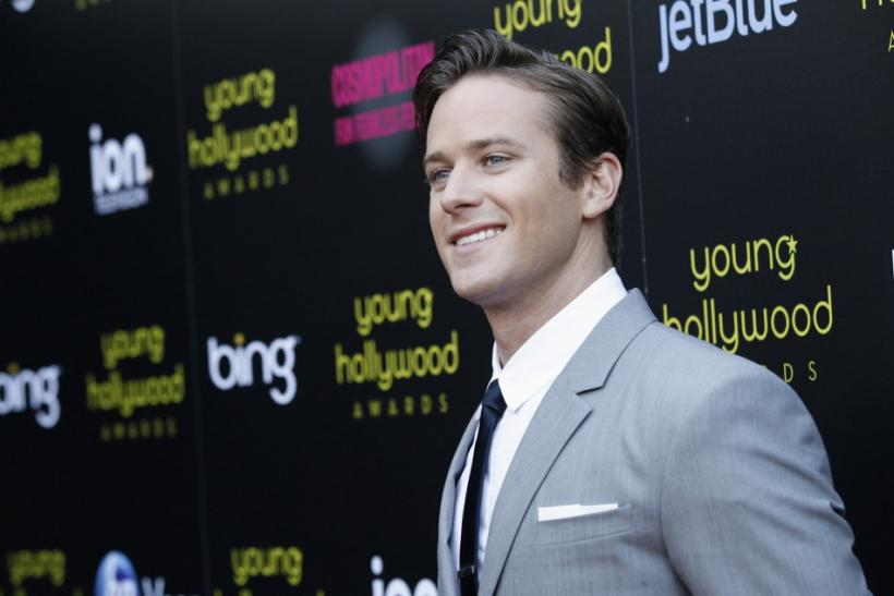 Armie Hammer Talks Sex And Violence: 'One Chick Tried To Stab Me When We ...