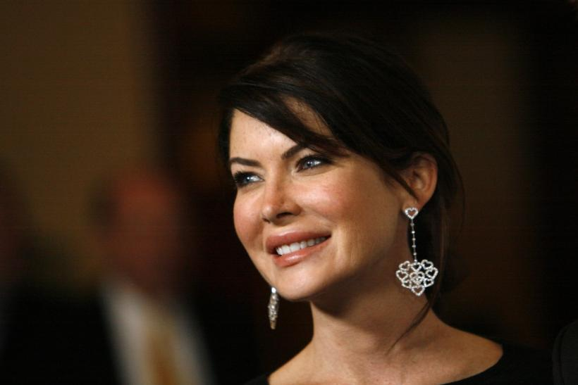 Actress Lara Flynn Boyle smiles at the 13th annual Race to Erase MS in Century City, California April 13, 2007.