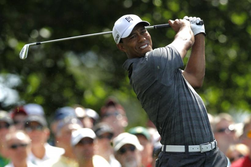 Watch Tiger Woods' press conference as he talks up his chances of winning a fifth Green Jacket at Augusta National.
